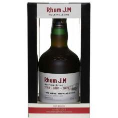 Rhum Agricole J.m. Vieux Multimillesime' 2002 - 2007 - 2009 Vol. 42,3%