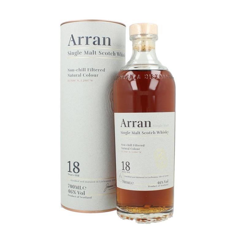 Arran Single Malt 18 YO - 46% - nuova presentazione Arran Whisky 99,92€