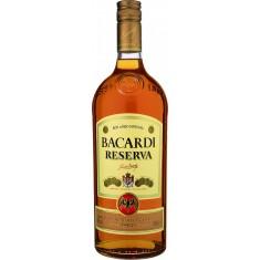 Bacardi reserva 1 litro