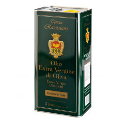 Tenuta - Rasciatano Olio Pugliese DOCG Extravergine in Latta 5 litri Tenuta Rasciatano Olio 45,00€