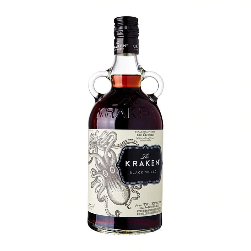 Rum Black Spiced The Kraken 1LT  Rum 26,00€