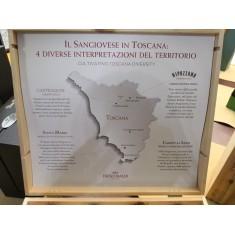 Cassetta Frescobaldi 4 Vini - Castiglioni 2016 + Campo ai Sassi 2015 + Santa Maria 2015 + Nipozzano 2014