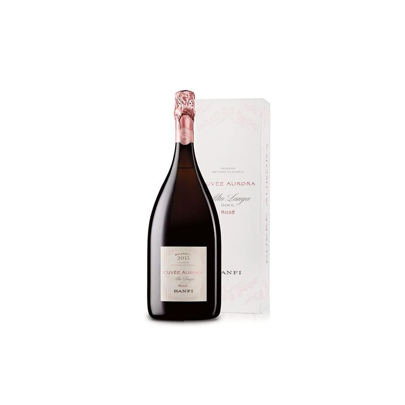 Cuvée Aurora Rosé 2016 Magnum 1,5 LT - Alta Langa DOCG Talento Metodo Classico Castello Banfi Metodo Classico 43,99€