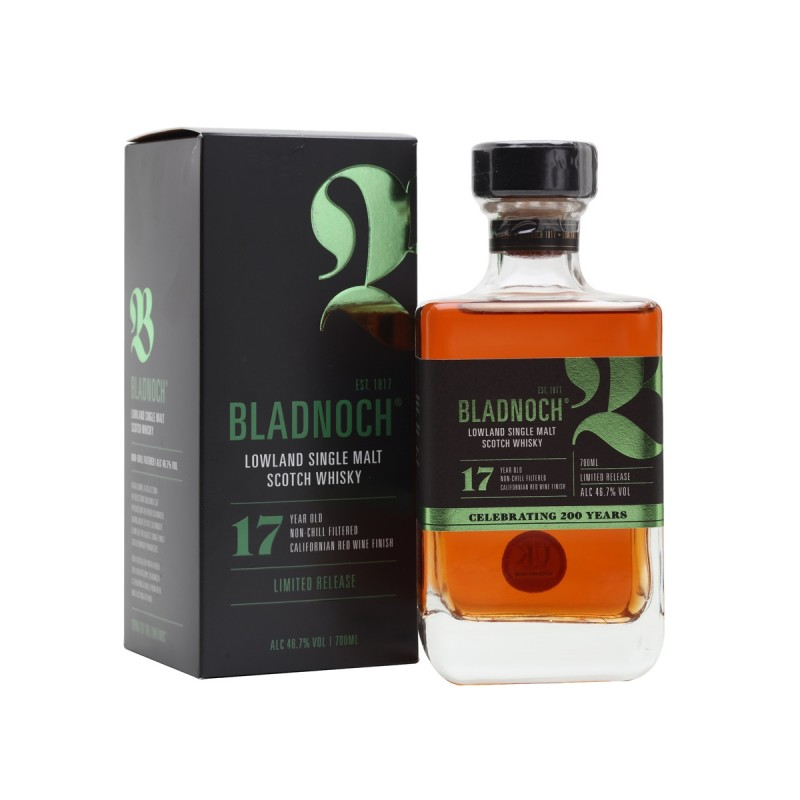 Bladnoch 17 years Red Wine Finish Bladnoch Whisky 97,00€