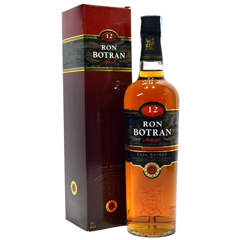 Botran Añejo 12 Y.O.70 cl BOTRAN Rum 24,50€
