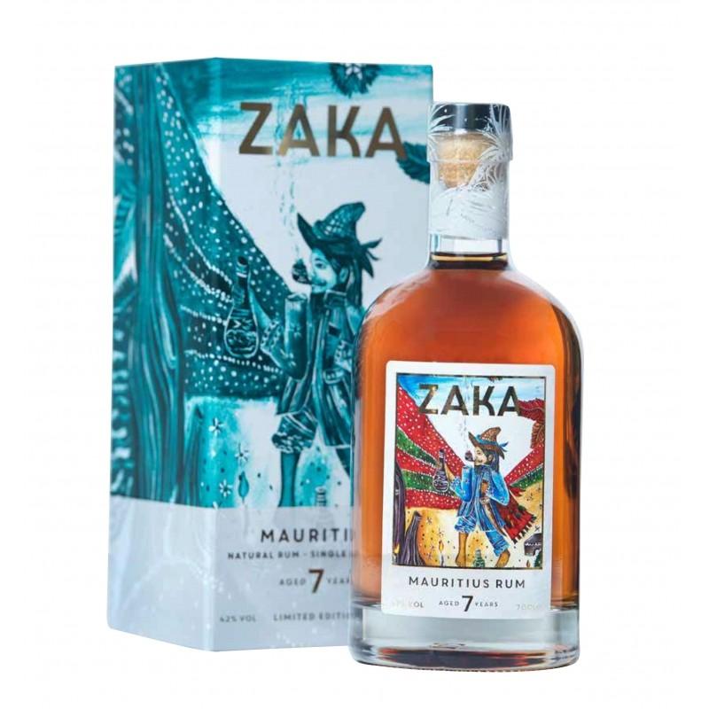 Zaka Mauritius Rum 7 Y.O. (70CL, 42.0% Vol.) ZAKA RUMS Rum 45,99€