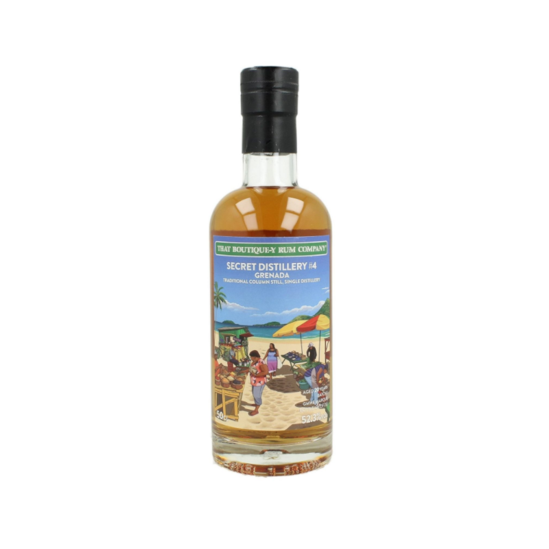 That boutique-y rum company - Grenada Secret Distillery -4 Batch -1 - 52,3% cl. 50 That boutique-y rum company Rum 97,31€