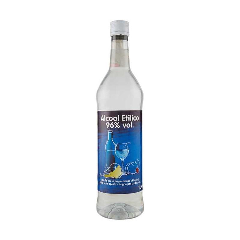 DILMOOR ALCOOL PURO (1LT, 96.0% Vol.) DILMOOR Distillati 17,49€