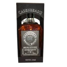 CADENHEAD'S SINGLE CASK SPEYSIDE - GLENLIVET 18 YO - 62,8% 70CL - SINGLE MALT SCOTCH WHISKY