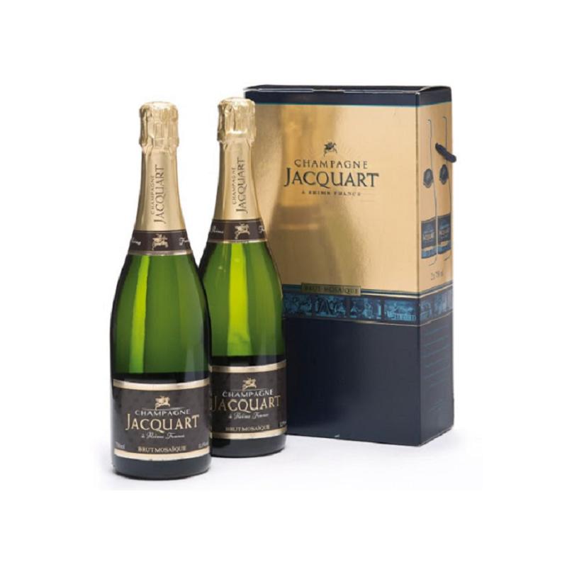Champagne Jacquart Brut Mosaique Confezione 2 Bottiglie Jacquart Champagne 67,00€