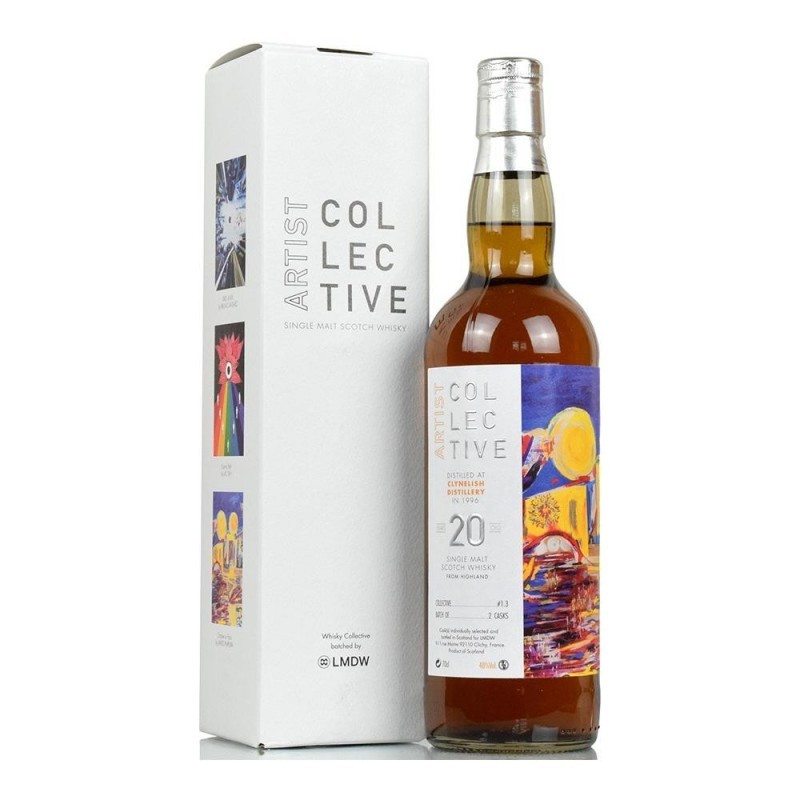ARTIST COLLECTIVE CLYNELISH 1996 20 YO (70CL, 48.0% Vol.) ARTIST COLLECTIVE Whisky 103,46€