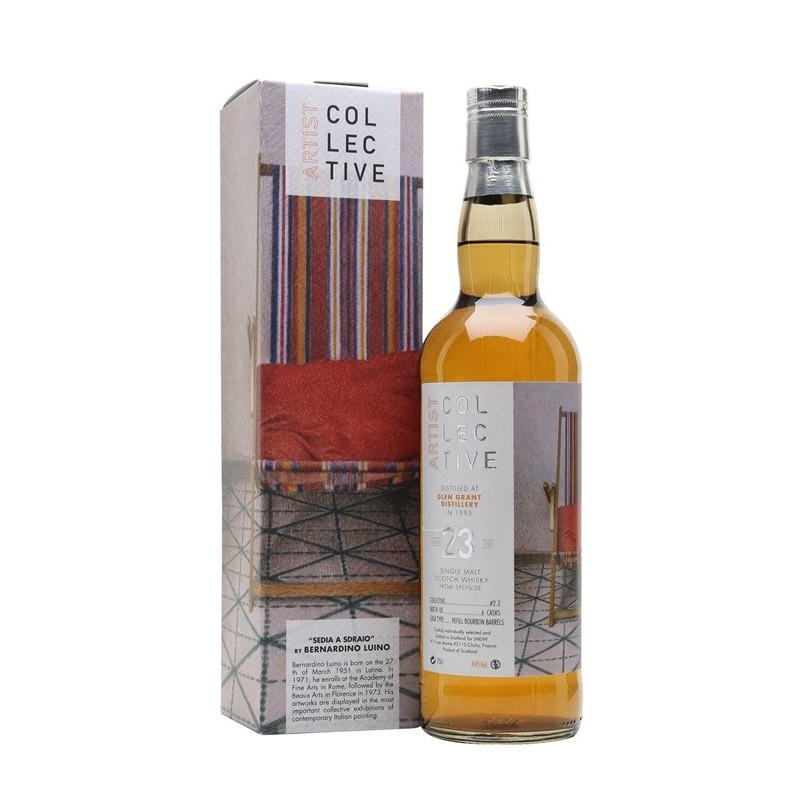 ARTIST COLLECTIVE GLENGRANT 1995 23 YO Batch 2 (70CL, 48.0% Vol.) ARTIST COLLECTIVE Whisky 163,24€