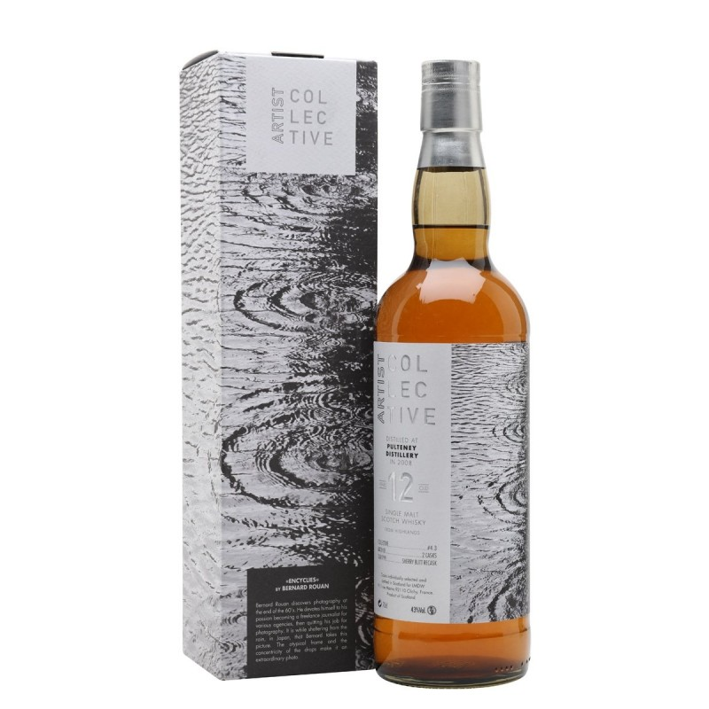 ARTIST COLLECTIVE PULTENEY 12 YO 2008 (70CL, 43% Vol.) ARTIST COLLECTIVE Whisky 76,35€