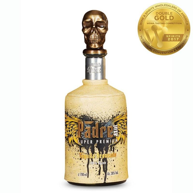 TEQUILA PADRE AZUL REPOSADO SUPER PREMIUM (1L, 38.0% Vol.) TEQUILA PADRE AZUL Tequila - Sotol - Mezcal 115,00€