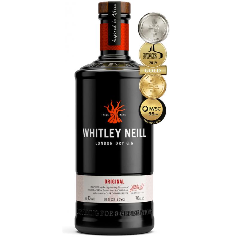 Whitley Neill Gin (1L, 43% VOL.) Whitley Neill Gin Gin 37,50€