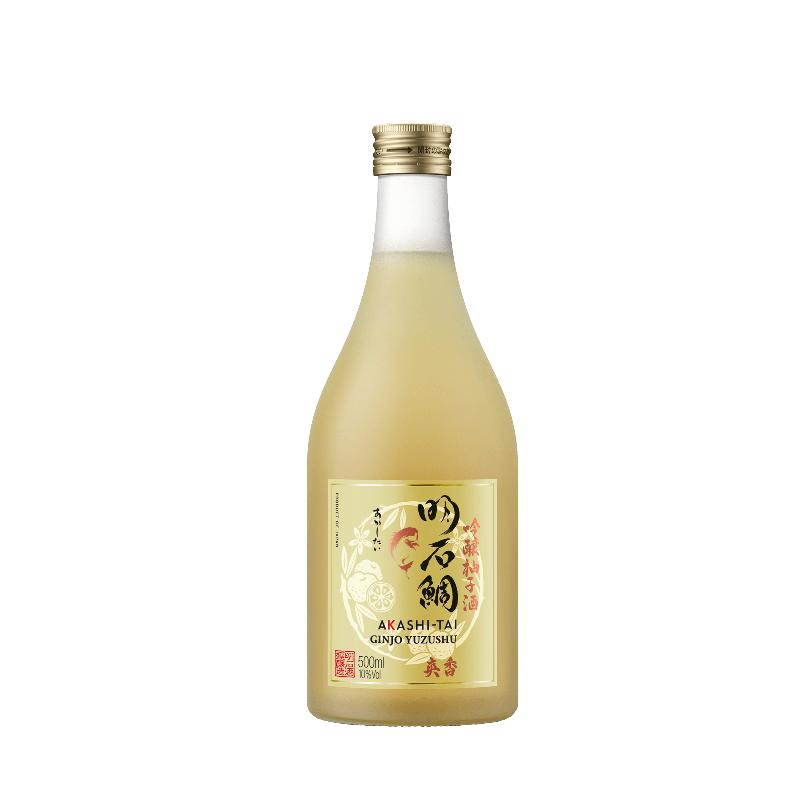 """Sake """"Yuzu"""" Ginjo Yuzushu - Akashi-Tai (50CL, 10.0% Vol.) Akashi Tai Sake 25,00€"""