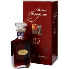 Baron de Sigognac Armagnac 25 Year Carafe Luxuri Box (70CL, 40.0% Vol.) Baron de Sigognac Armagnac 147,00€