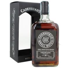 CADENHEAD S STRATHCLYDE SINGLE Grain 1989 30 YO - (70CL, 54.5% Vol.) CADENHEAD'S Whisky 134,00€