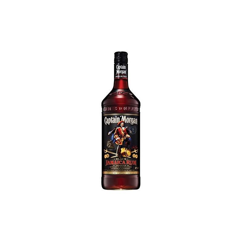 Captain Morgan Black 1L Captain Morgan Rum 18,00€